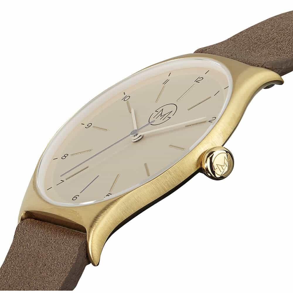 extra flache armbanduhr slim made one 09 entwickelt in der schweiz. Black Bedroom Furniture Sets. Home Design Ideas